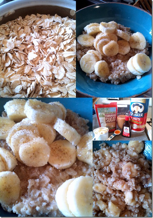 Oatmeal collage